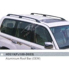 Крышки рейлингов продольных для Toyota Land Cruiser 100