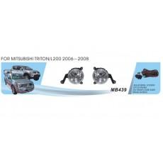 Противотуманные фары для Митсубиси Л 200 2006-2008
