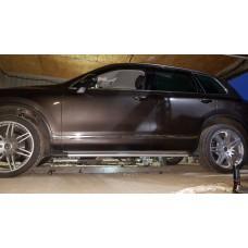 Боковые пороги для Volkswagen Touareg FL
