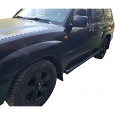 Боковые пороги (подножки) для Toyota Land Cruiser 100