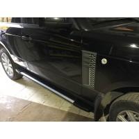 Пороги на Рендж Ровер для машин без порогов или для замены электро порогов