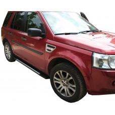 Боковые пороги (подножки) для Land Rover Freelander 2