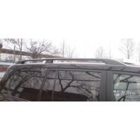 Рейлинги продольные (черные) для Toyota Land Cruiser 200