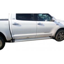 Боковые пороги (подножки) для Toyota Tundra (2007-2016 Crew Max)