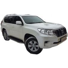 Защита боковых порогов (подножек) для Toyota Land Cruiser Prado 150