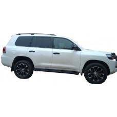 Боковые пороги (подножки) для Toyota Land Cruiser 200
