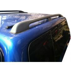 Рейлинги продольные (черные) для кунга Toyota Tundra