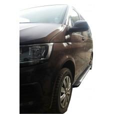 Боковые пороги (подножки) для Volkswagen Caravelle