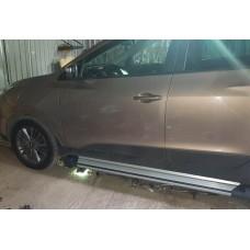Боковые пороги (подножки) для Hyundai iX35