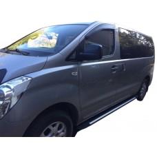 Боковые пороги (подножки) для Hyundai Starex (H-1)