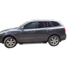 Боковые пороги (подножки) для Hyundai Santafe (2010-2012)