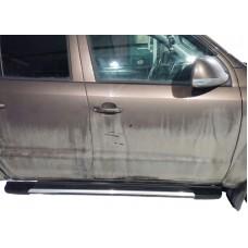 Боковые пороги (подножки) для Volkswagen Amarok (2009-)