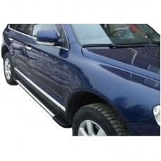 Боковые пороги (подножки) для Volkswagen Touareg (2002-2010)
