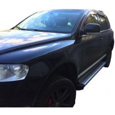 Пороги на Туарег ЖП 02-10 BMW Style