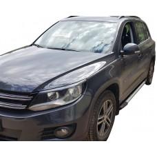 Боковые пороги (подножки) для Volkswagen Tiguan (2007-)