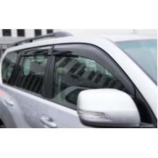 Ветровики дверей для Toyota Land Cruiser Prado 150
