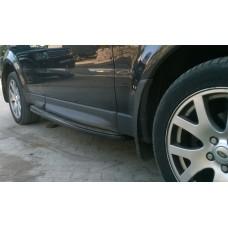 "Комплект порогов ""Black Style"" для Range Rover Sport"