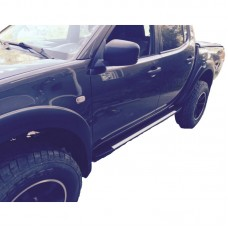 Боковые пороги (подножки) для Fiat Fullback