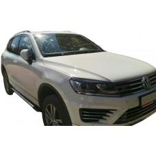 Боковые пороги (подножки) для Volkswagen Touareg FL (R-Line)