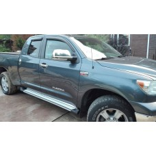 Боковые пороги (подножки) для Toyota Tundra (2007-2016 Double Cab)