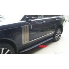 Торцевая планка порога из нержавейки для Range Rover (2013+)