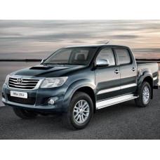 Боковые пороги (подножки) Toyota Hilux / Vigo 2005-2014